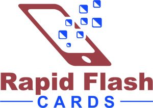 Rapid Flash cards Logo Test Prep and Quiz Portal