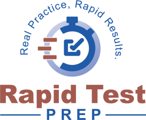 Rapid Test Prep Logo Rapid Flash Cards Portal