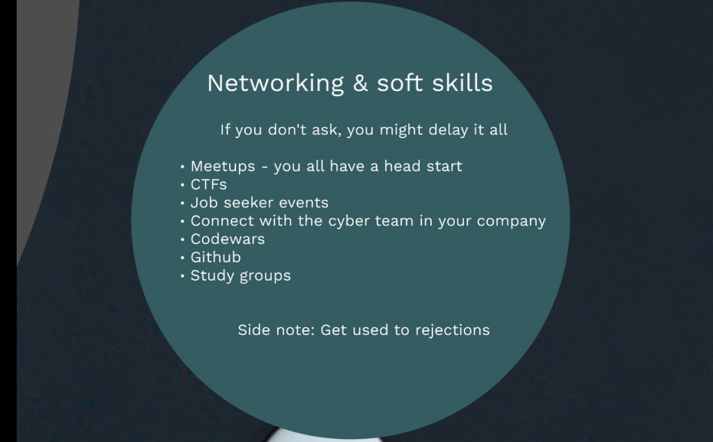 Networking and Soft Skills