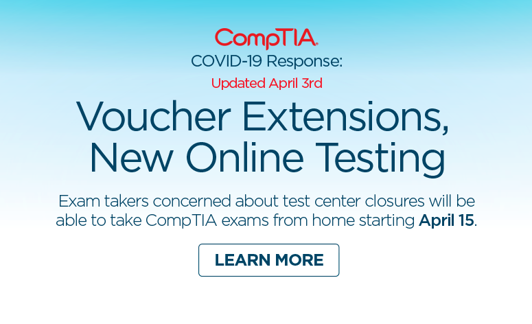 CompTIA New Online Testing