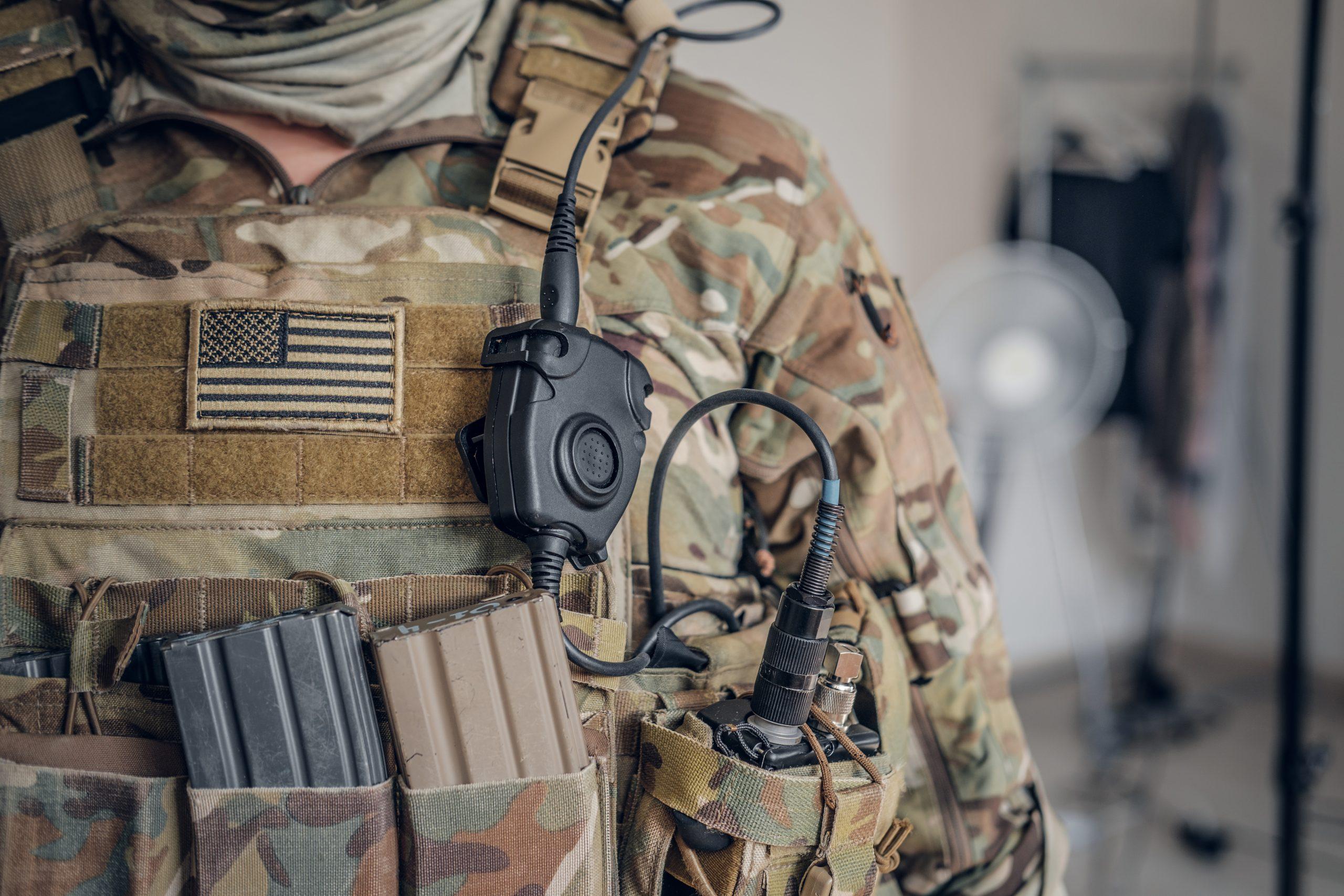 Army in uniform