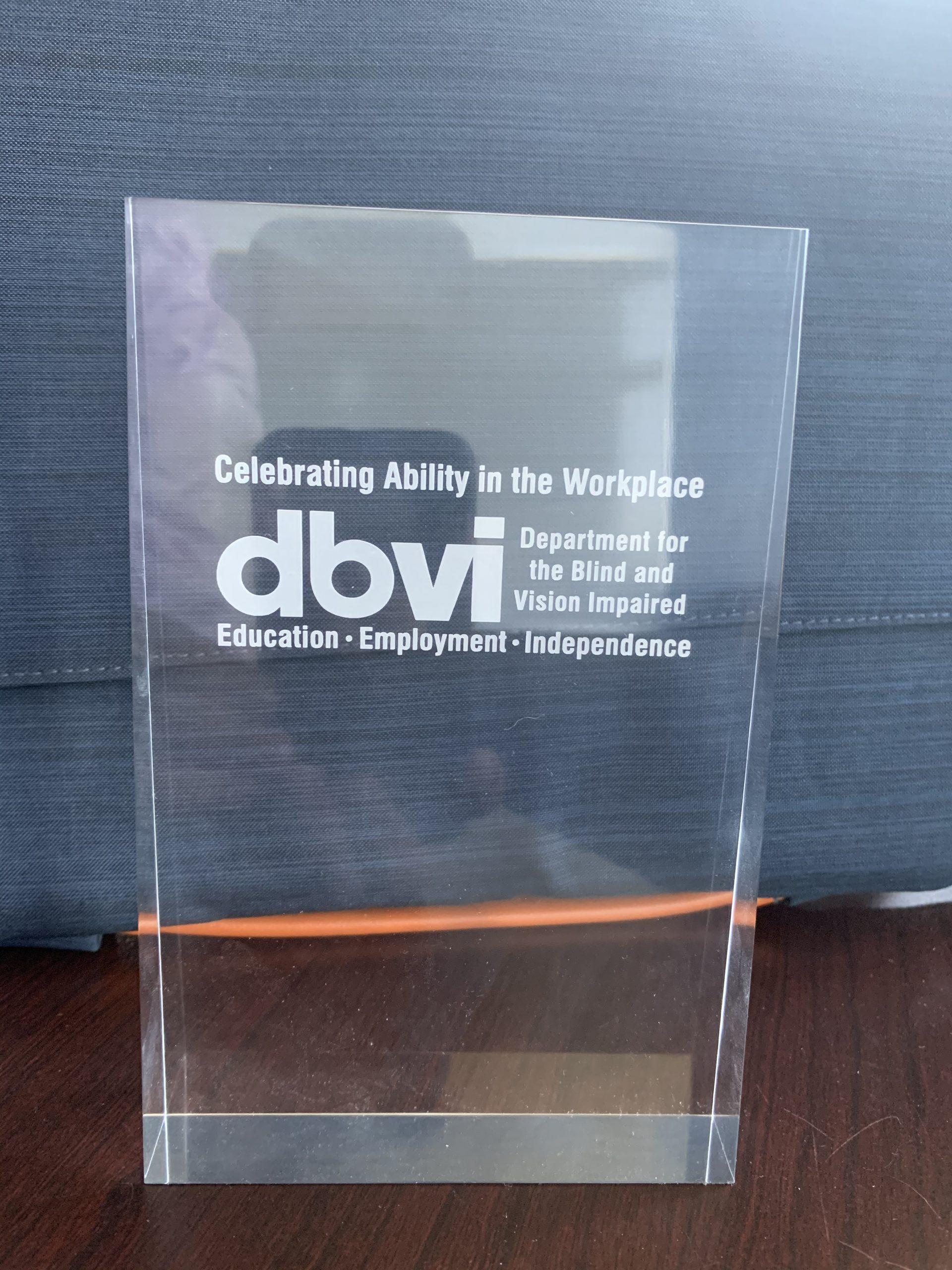 DBVI Award