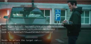 Belgian security researchers said they managed to hack into a Tesla Model X in minutes using a few hundred dollars of equipment. (COSIC/YouTube)