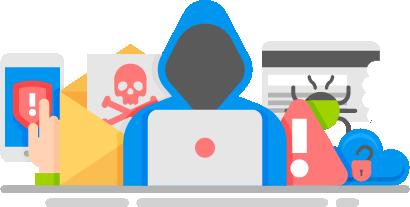 Cyber Hacker Activity
